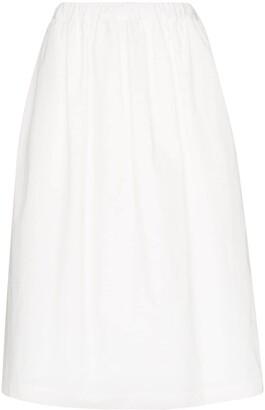 Plan C Drawstring Midi Skirt