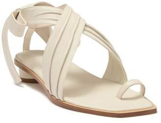 Tibi Miles Wraparound Tie Sandal
