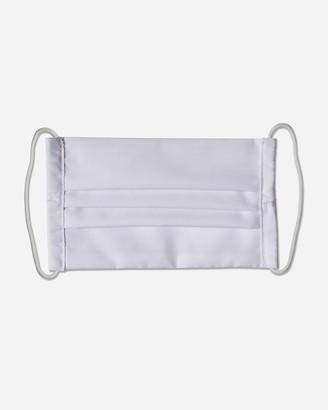 Express Pocket Square Clothing White Pleated Unity Face Mask