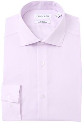 Calvin Klein Steel+ Slim Fit Dress Shirt