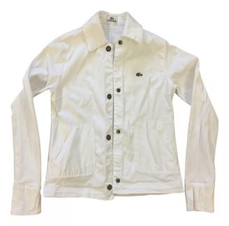 Lacoste White Denim - Jeans Jackets