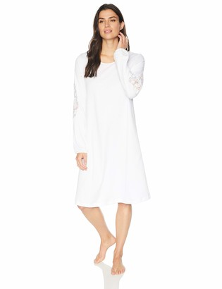 Hanro Women's Jana Long Sleeve Gown