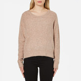 Samsoe & Samsoe Women's Nor O-Neck Short Jumper