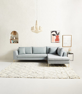 Anthropologie Edlyn Chaise Sectional By in Assorted Size ALL