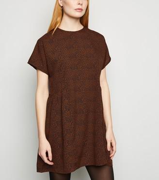New Look Influence Spot Smock Dress