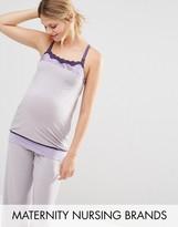 Cake Lingerie Cake Sugar Plum Camisole Maternity & Nursing Pajama Top