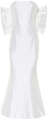 Rasario Exclusive to Mytheresa Silk-satin midi dress