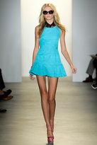Peter Som Strie Slub Cloth S/less Dress