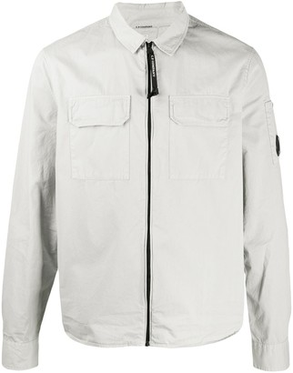 C.P. Company Long-Sleeved Chest Pocket Shirt Jacket