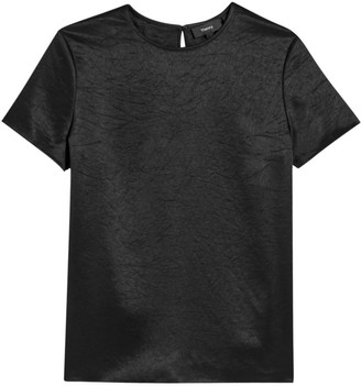 Theory Double Satin Woven Tee
