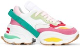 DSQUARED2 Colour-Block Chunky Low-Top Trainers