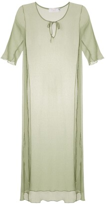 BRIGITTE Silk Beach Dress