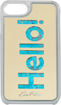Edie Parker Blue Floating Hello iPhone 6 or 7 Case