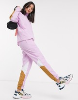 adidas Bellista track pants in lilac