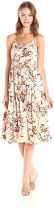 En Creme Women's Ladylike Midi Dress