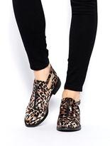 ASOS MASON Flat Shoes - Leopard