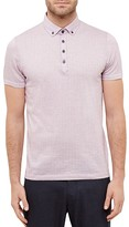 Ted Baker Tomaso Spotted Regular Fit Polo