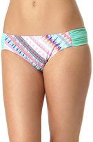 Arizona Bliss Macrame Side-Tab Hipster Swim Bottoms - Juniors