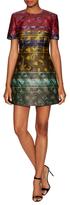 Mary Katrantzou Hirsel Jacquard Mini Cocktail Dress