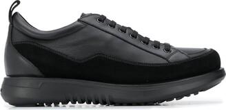 Giorgio Armani Lace-Up Platform Sole Sneakers