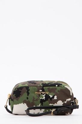 Miu Miu Camouflage Print Make-Up Case