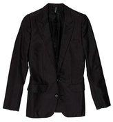Christian Dior Wool-Blend Two-Button Blazer