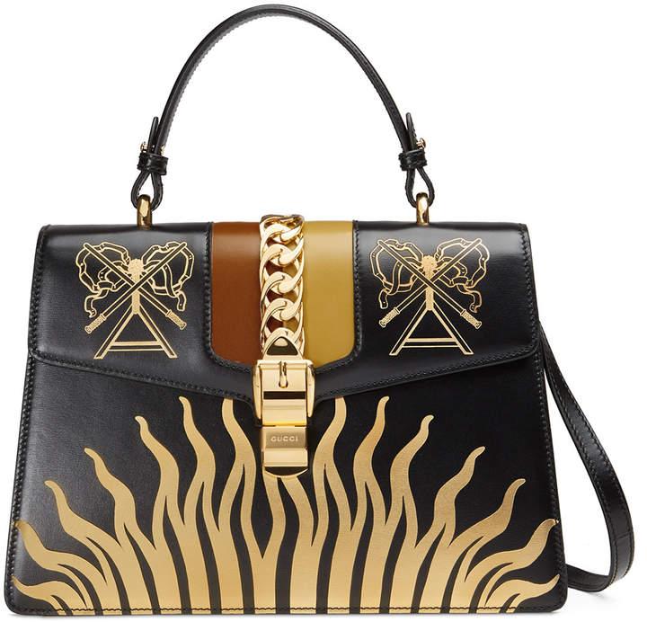 7b68e382aa07bc Gucci Faux Leather Handbags - ShopStyle
