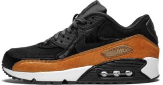 Nike Womens Air Max 90 LX 'Pony Hair - Black/Cider' Shoes - Size 6W