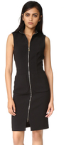 L'Agence Chiara Front Zip Dress