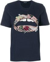 Markus Lupfer sequinned lips T-shirt