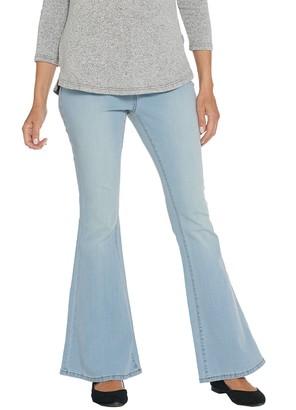 G.I.L.I. Got It Love It G.I.L.I. Petite Dual Stretch Flare Leg Jeans
