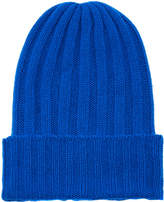 The Elder Statesman Short Bunny Ribbed Cashmere Beanie