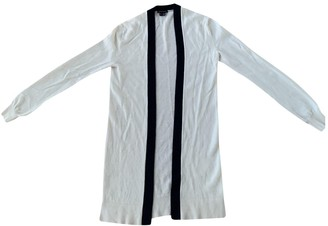 Theory White Cashmere Knitwear