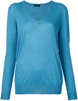 Roberto Collina V-neck jumper - women - Cashmere - L