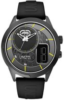 Ecko Unlimited Men's E14545G2 Silicone Quartz Watch with Dial