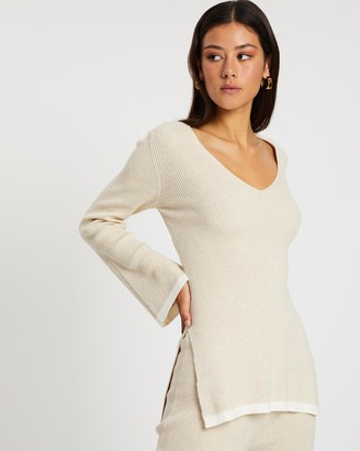 Bec & Bridge Elysiane Knit Top