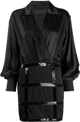 Christian Pellizzari jacquard print dress