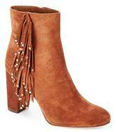 Diane von Furstenberg Forti Suede Ankle Boots