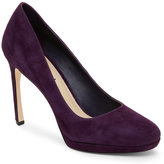 Via Spiga Purple Siena High Heel Platform Pumps