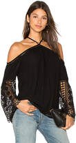 Ramy Brook Peyton Top in Black. - size S (also in XS)