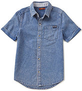 7 For All Mankind Big Boys 8-20 Textured Woven Shirt