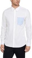 Paul Smith Long Sleeve Contrast Pocket Button Down Shirt
