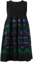 Issey Miyake geometric shape dress - women - Cotton/Nylon/Polyester/Polyurethane - One Size