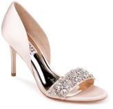 Badgley Mischka Ivy Embellished Heel Sandal
