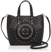 Furla Aurora Small Laser Cut Leather Tote