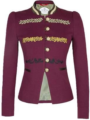The Extreme Collection Burgundy Blazer Renata Princess