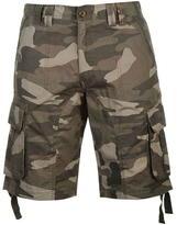 Soulcal Deluxe Camo Cargo Shorts