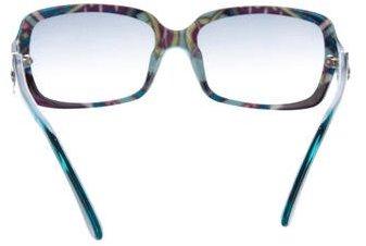 Emilio Pucci Gradient Logo Sunglasses