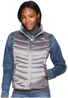 The North Face Aconcagua Vest II (Shiny Mid Grey) Women's Vest