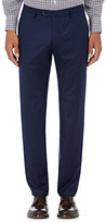 Incotex Men's S-Body Slim-Fit Wool-Cashmere Trousers-NAVY, BLUE